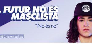 'El futur no és masclista', la nova campanya de l'Ajuntament de Barcelona contra el masclisme