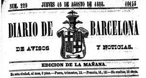 La UPF recuperarà el Diari de Barcelona en format digital