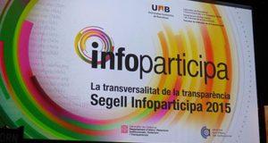 Entrega de la 4a edició del Segell Infoparticipa