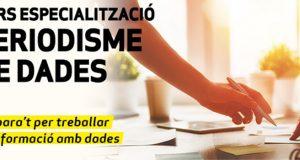 """""""Nova formació d'especialització: Periodisme Dades"""""""
