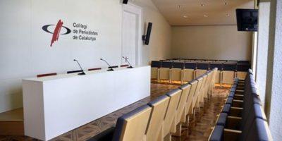 Nou servei de rodes de premsa virtuals al Col·legi de Periodistes