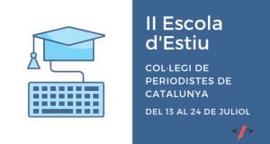 II Escola d'Estiu del Col·legi de Periodistes de Catalunya