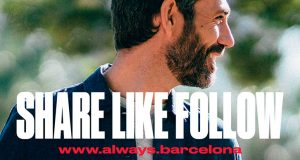 Share Like Follow Barcelona