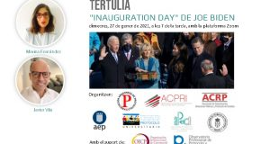 La presa de possessió de Joe Biden, analitzada per les associacions de protocol