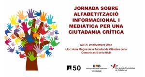 Jornada sobre Alfabetització Informacional i Mediàtica