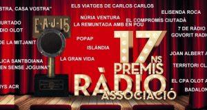 Ja es coneixen els guardonats amb els Premis Ràdio Associació de Catalunya
