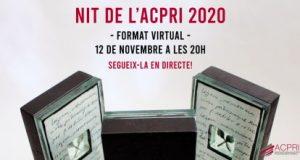 La Nit dels Premis ACPRI, en format virtual
