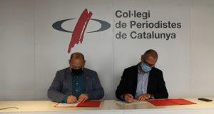 El Col·legi de Periodistes oferirà formació per millorar la comunicació de la Diputació de Barcelona